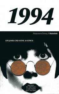 Buchcover: SZ-Diskothek, 1994. Ein Jahr und seine 20 Songs