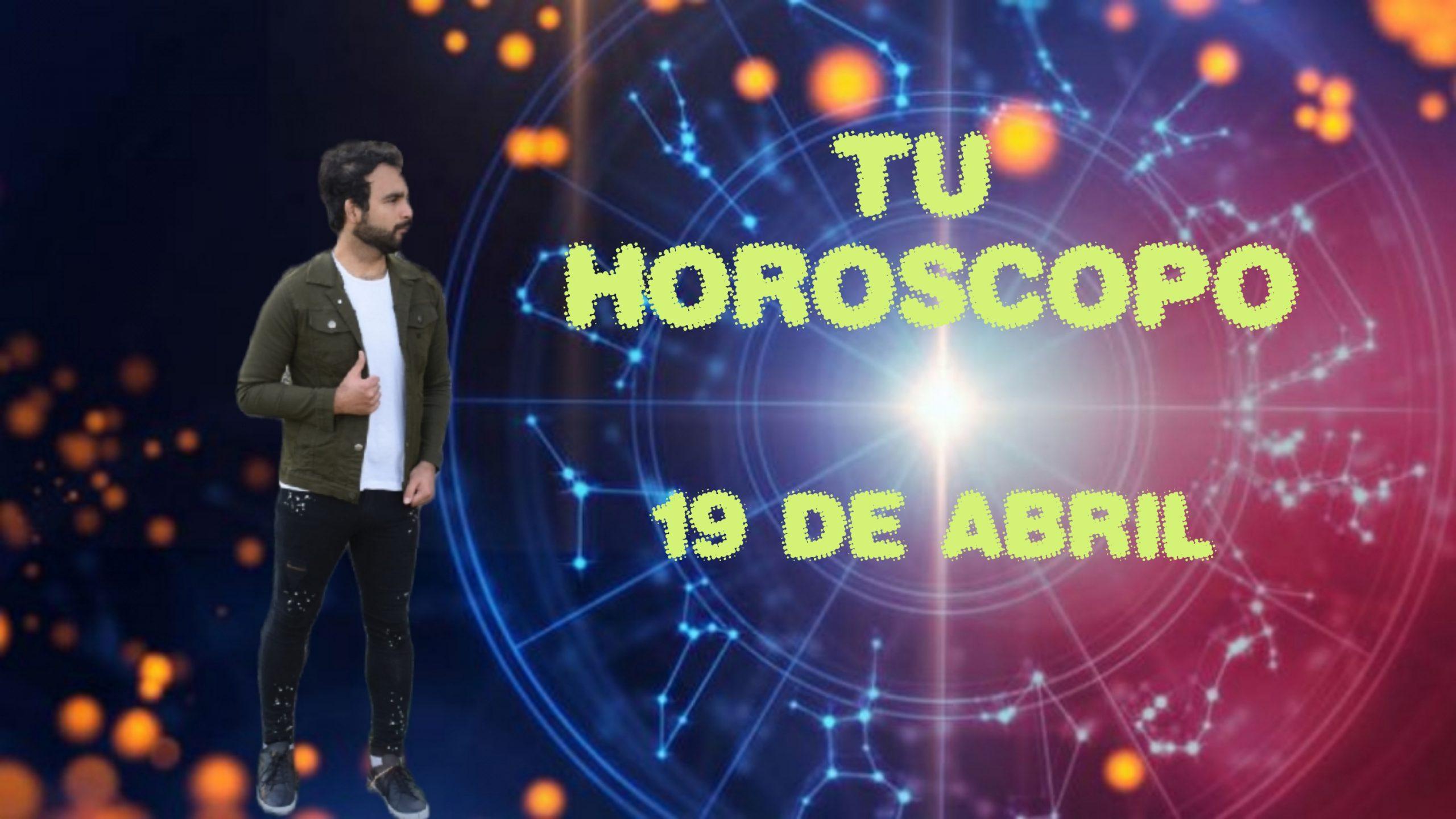 Horóscopos del 19 de abril 2021. Descubre tu futuro con Marcos Nahuel