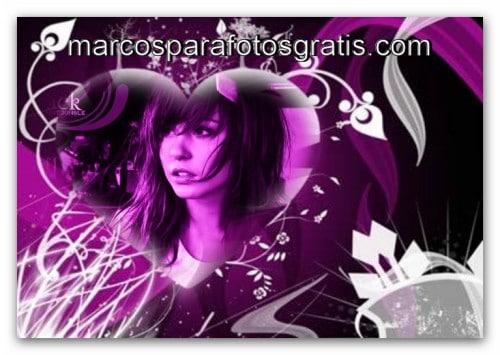 Corazones Marcos para fotos online