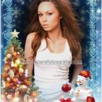 Marcos navideños para fotos