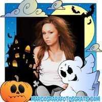 10 Modelos de marcos de Happy Halloween