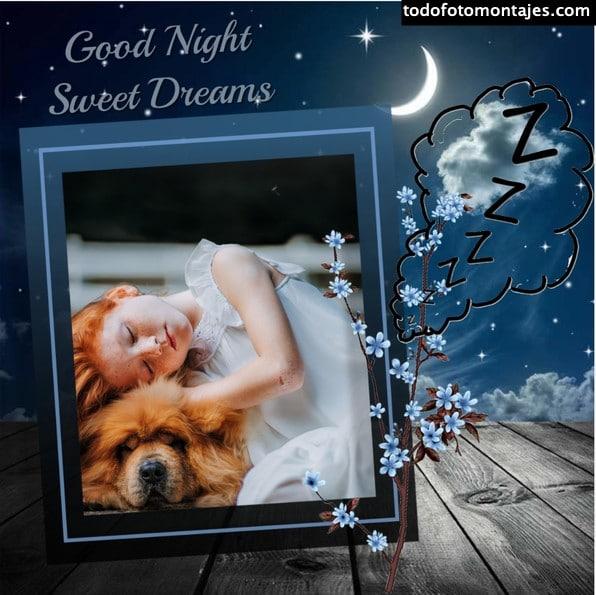 fotomontajes buenas noches