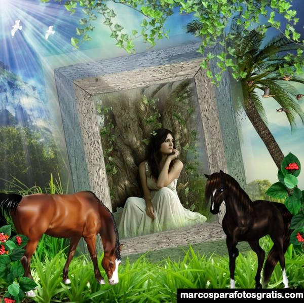 fotomontajes con caballos