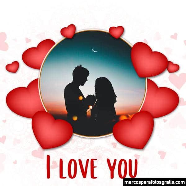 Marcos de San Valentín para fotos
