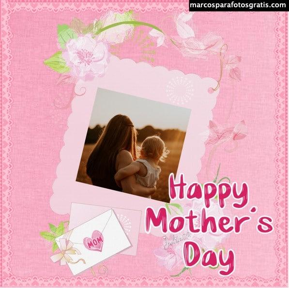 marco foto día de las madres