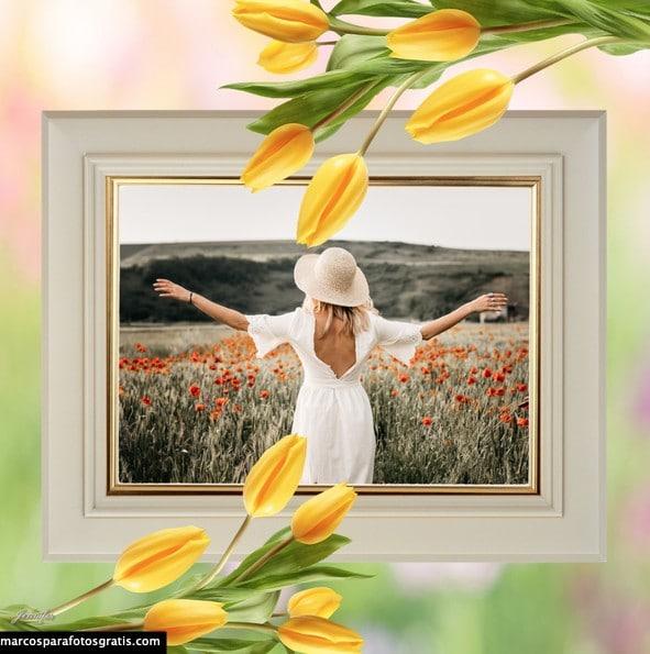 mejores marcos de flores