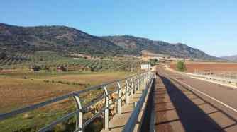 Carretera hacia la Yedra, Piedrabuena CIUDAD REAL
