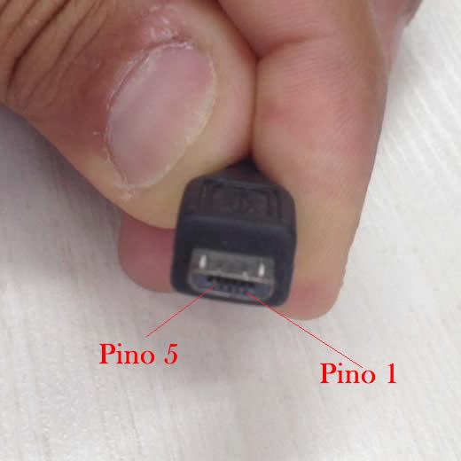 Pinagem Conector Micro USB