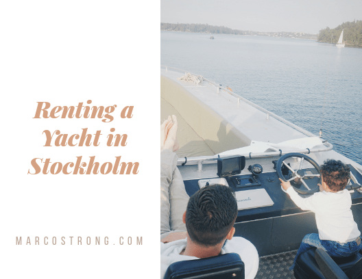 Renting a Yacht in Stockholm