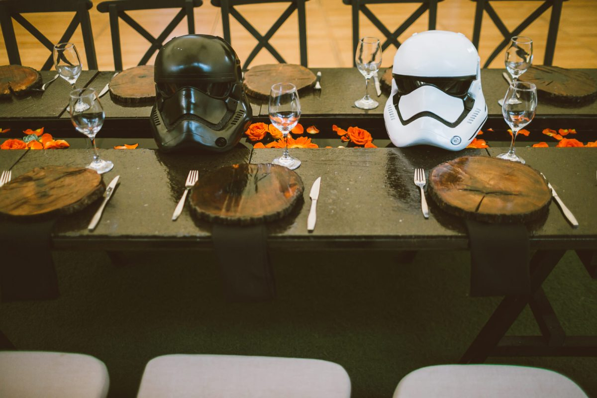 wedding photographer marcosvaldés|FOTÓGRAFO® Liz&Cesare star-wars wedding