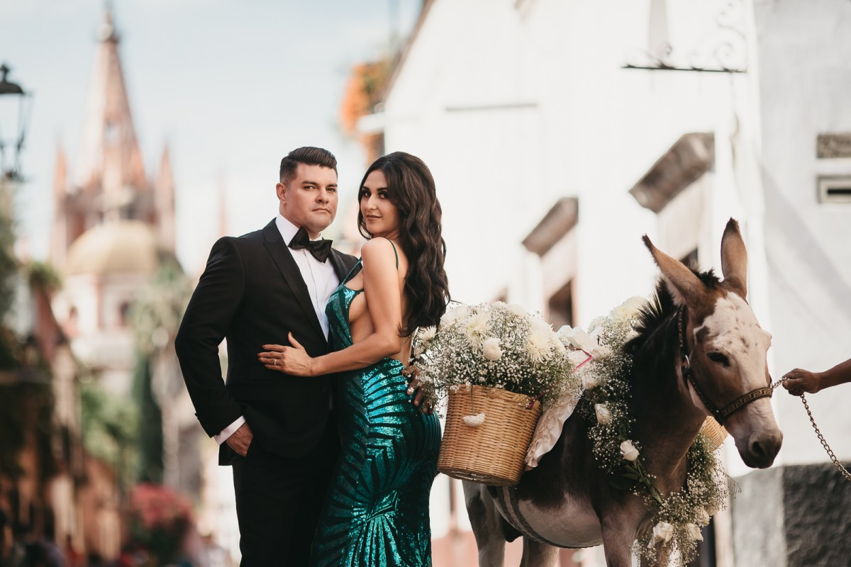 Save the date, Elsa&Joshua, San Miguel de Allende