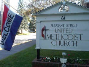 Pleasant Street United Methodist Church, Waterville, Maine
