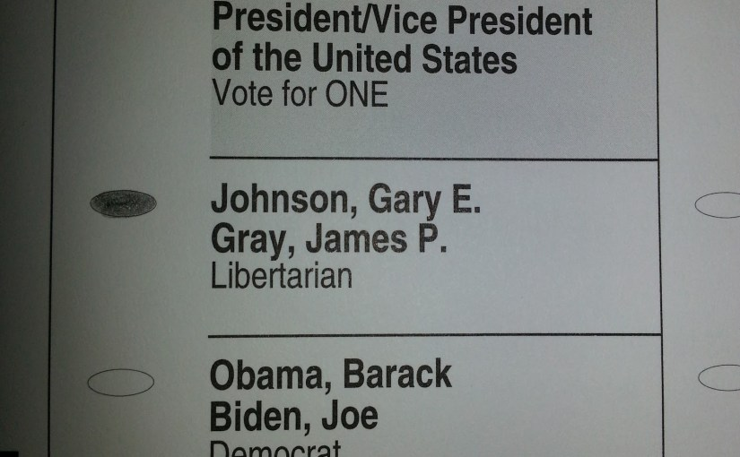 Why this Maine resident voted for Gary Johnson