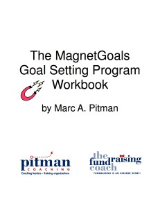 image of the cover of The MagnetGoals Goal Setting Program Workbook