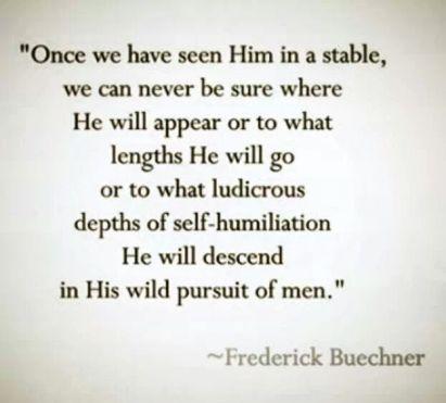 Frederick Beuchner on God's astounding love