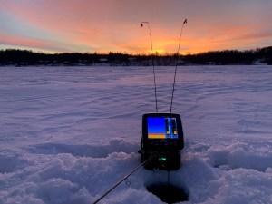 Transport Ice Fishing Rods
