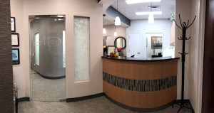 Dentist Reception Area