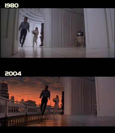 Lando en DVD