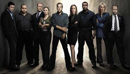 Os protagonistas da quinta tempada de 24