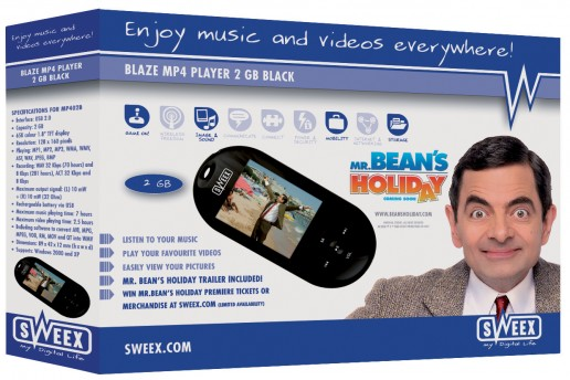 Blaze MP4 Player 2 Gb