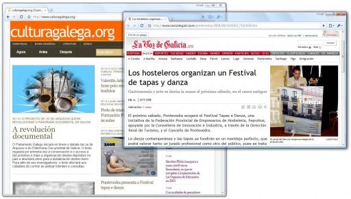 a onde nos leva Google ao buscar sobre o Festival de tapas e danza