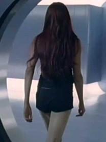 Jean Grey de espaldas tras su resurrección