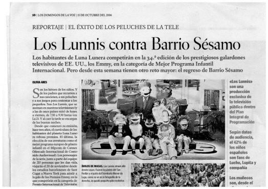 Curiosa páxina de La Voz