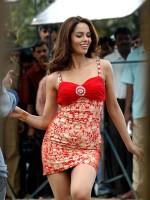 Mallika Sherawat durante a rodaxe de Preethi Yeke Bhoomi Melide