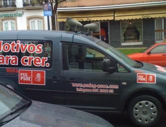 Coche do PSdeG-PSOE