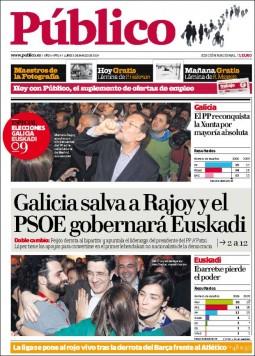 portada de Público