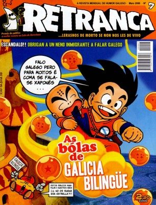Portada do número 7 da revista Retranca