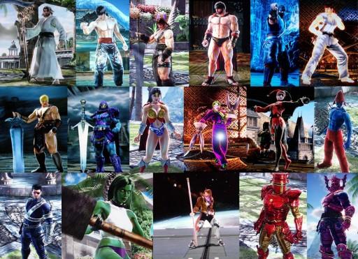 Os loitadores personalizados máis orixinais de Soul Calibur IV