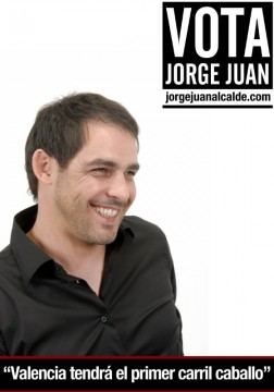Jorge Juan quere dotar a Valencia dun carril cabalo