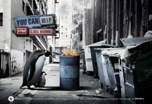 Pingüíns na rúa