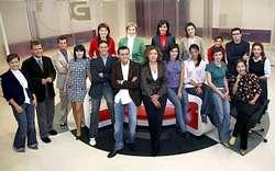 Novos presentadores