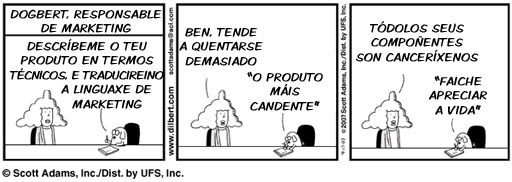 Dogbert e o marketing