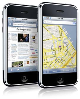 Safari e Mapas no iPhone