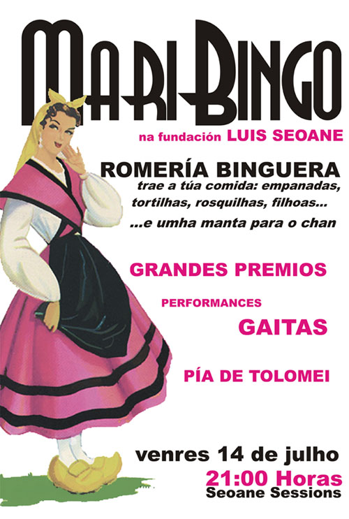 Cartel promocional do MariBingo