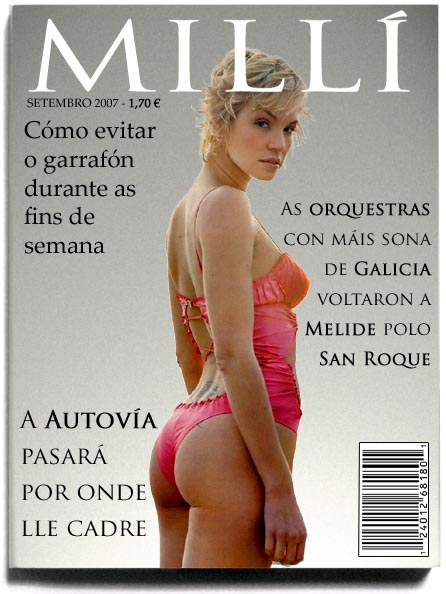 Portada do número 0 da revista Millí