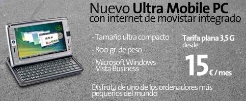 Prezo do UMPC de Movistar