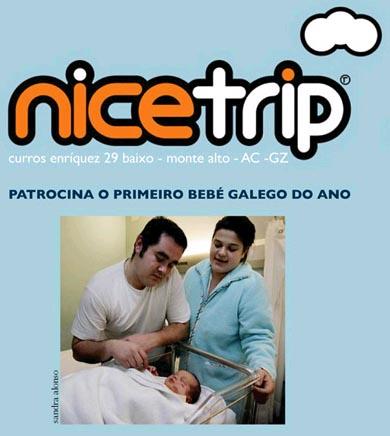 Nicetrip - Primeiro bebé de 2008