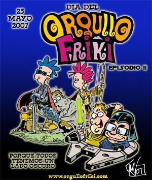 Póster do Día do Orgullo Friki 2007