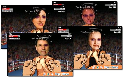 Boxeando cos candidatos