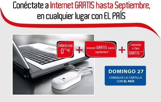 Promoción de El País e Vodafone