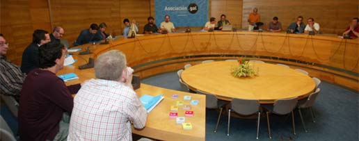 Asamblea fundacional da Asociación PuntoGal