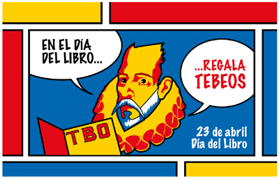 No día do libro regala tebeos