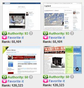Os blogues en galego máis populares en Technorati