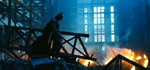 The Dark Knight arrasa