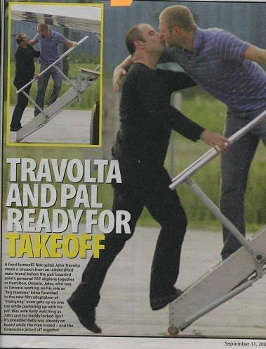 Travolta bicando a outro tío