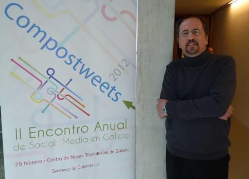 José Luis Orihuela no Compostweets 2012